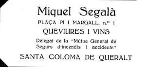 Segalà, Miquel